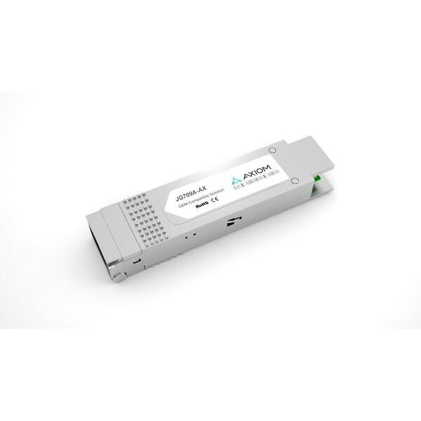 Axion JG709A-AX Axiom QSFP+ Module - For Optical Network, Data Networking - 1 x 40GBase-SR4 - Optical Fiber - 5 GB/s 40 Gigabit