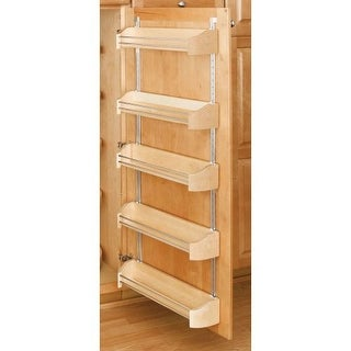"""Rev-A-Shelf 4235-20-5 4200 Series 20"""" Wide Door Storage Tray with Screw-In Clips (Package of 5)"""