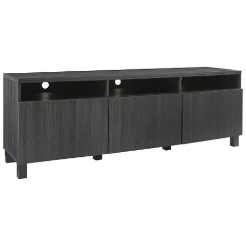 "Yarlow Extra Large TV Stand, Black - 17.13"" x 70"" x 24.13"""