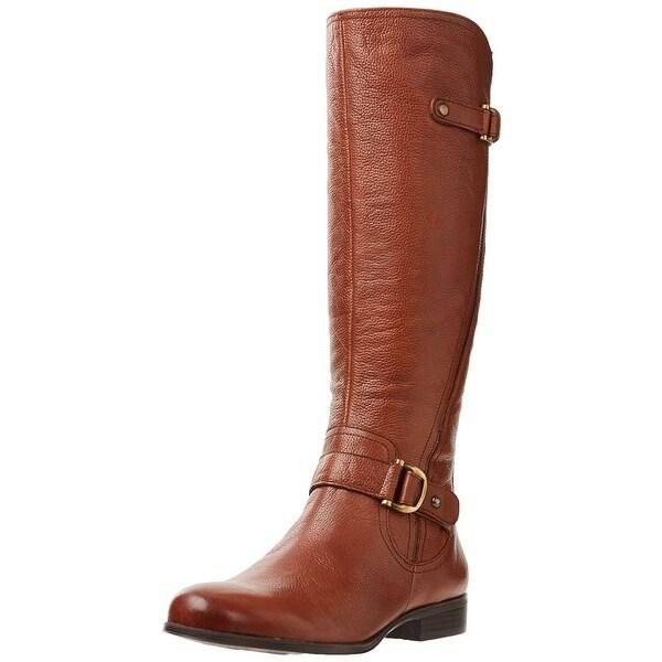 Naturalizer Womens Jersey Almond Toe Knee High Fashion Boots