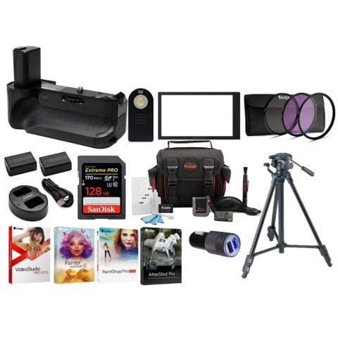 Sony a6000 Series Ultimate Bundle Accessory Kit