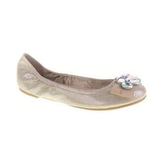 Cl By Chinese Laundry Womens Gem Stone Flats Shoes - Champagne - 6 b(m) us