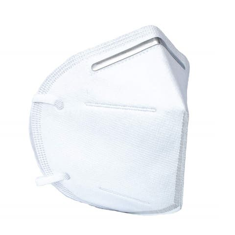 Homvare Disposable face masks with ear loop, Extra Soft for Maximum Comfort- 4 Ply - White