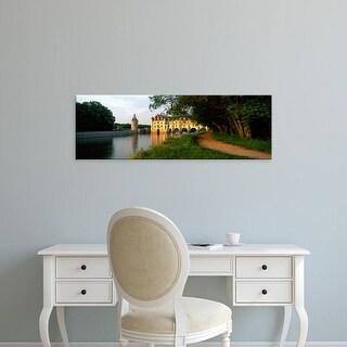 Easy Art Prints Panoramic Images's 'Chateau De Chenonceaux, Loire Valley, France' Premium Canvas Art