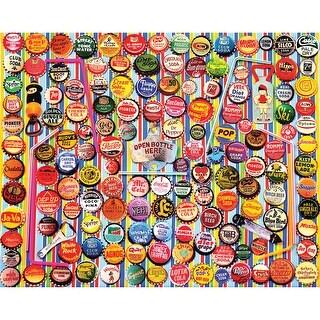 "Jigsaw Puzzle 1000 Pieces 24""X30""-Soda Caps"