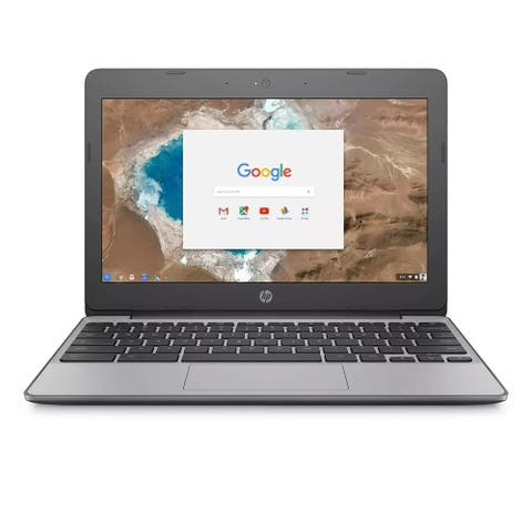 "HP Chromebook 11-v033nr 11.6"" 2GB 16GB Intel Celeron N3060 X21.6GHz,Gray(Certified Refurbished)"