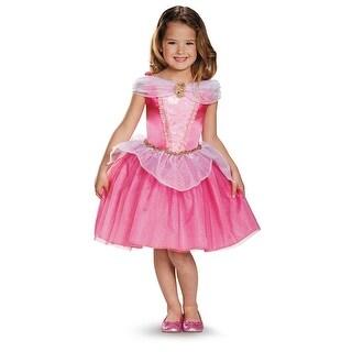 Girls Classic Aurora Disney Princess Costume