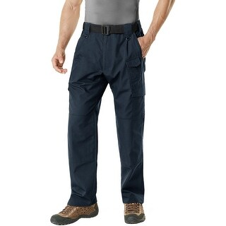 CQR TLP-105 Lightweight Ripstop EDC Tactical Assault Cargo Pants - Navy