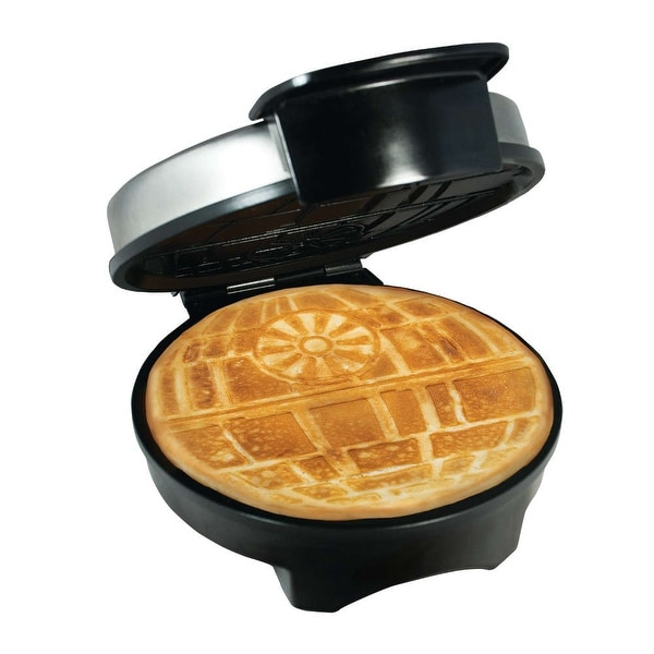 Star Wars Death Star Waffle Maker - Officially Licensed Waffle Iron - 9 in. x 11 in. x 5 in.