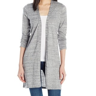 Calvin Klein NEW Gray Women's Size Large L Open Front Cardigan Sweater