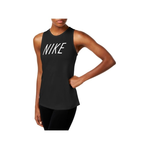 e11462658e17ea Shop Nike Womens Tank Top Graphic Training - Free Shipping On Orders ...