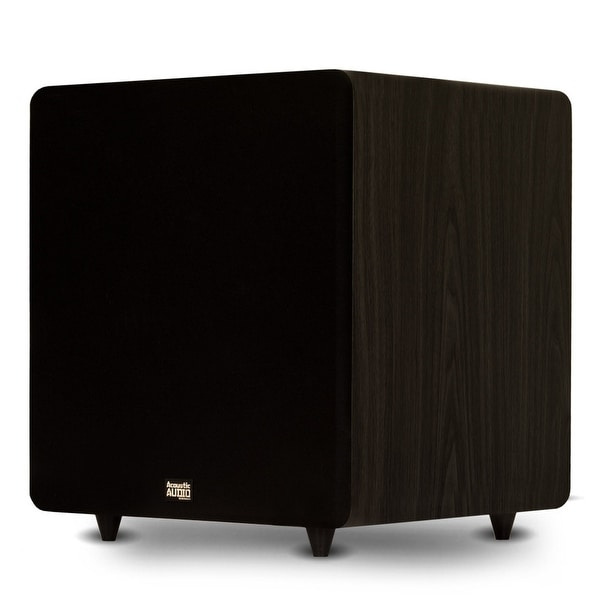 """Acoustic Audio PSW600-15 Home Theater Powered 15"""" LFE Subwoofer Front Firing Sub"""