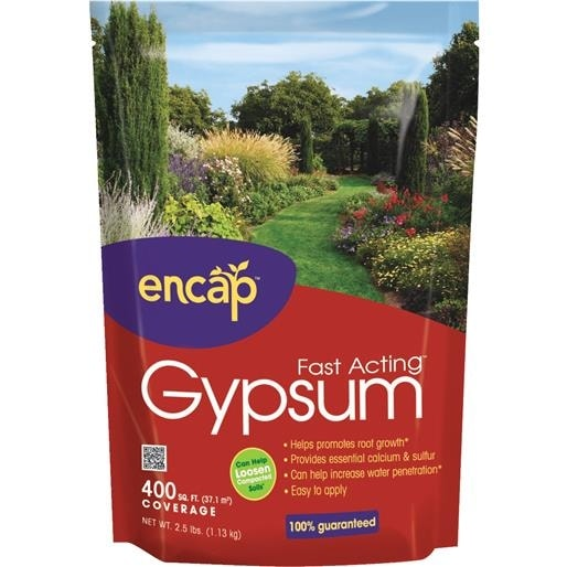 encap llc 25lb garden gypsum 10613 6 unit each - Garden Gypsum