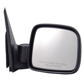 Pilot Automotive TYC 4140031 Black Passenger/ Driver Side Manual Folding Power Non-Heated Replacement Mirror for Jeep Liberty