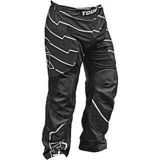 Tour Hockey Mens Code Activ Adult Hockey Pants, Black, S