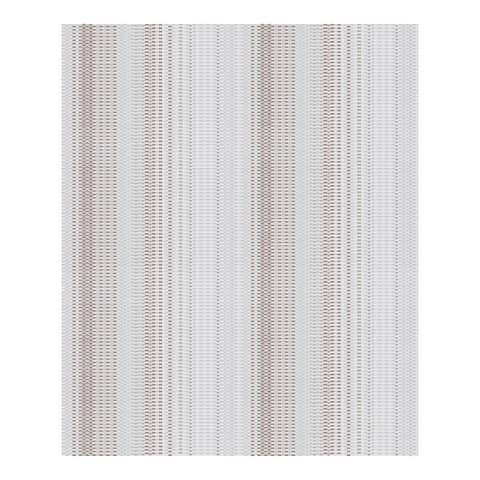 Morgen Silver Stripe Wallpaper - 21 x 396 x 0.025