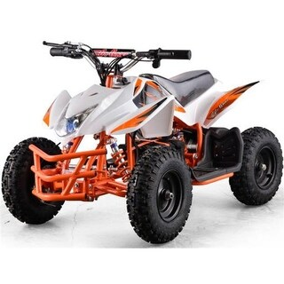 Moto Tec MT-ATV5_White 24 Mini Quad Titan V5, White
