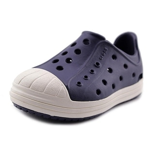 Crocs Bump It Shoe Toddler Round Toe Synthetic Blue Sneakers