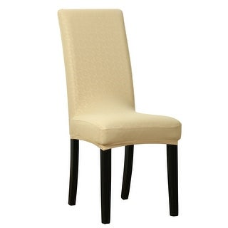Phenomenal Buy Faux Leather Chair Covers Slipcovers Online At Machost Co Dining Chair Design Ideas Machostcouk