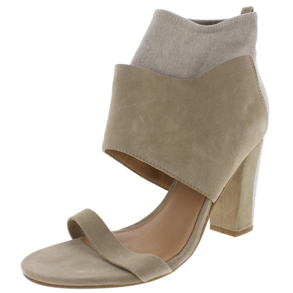BELLE by Sigerson Morrison Womens Belden Dress Heels Suede Stretch