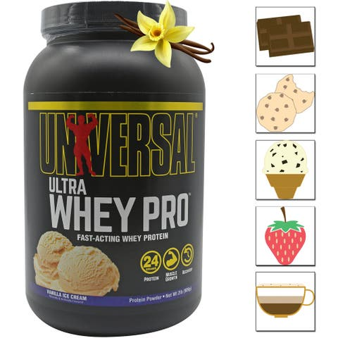 Universal Nutrition Ultra Whey Pro, 27 Servings, 21 grams of Protein Per Scoop - 27 Servings