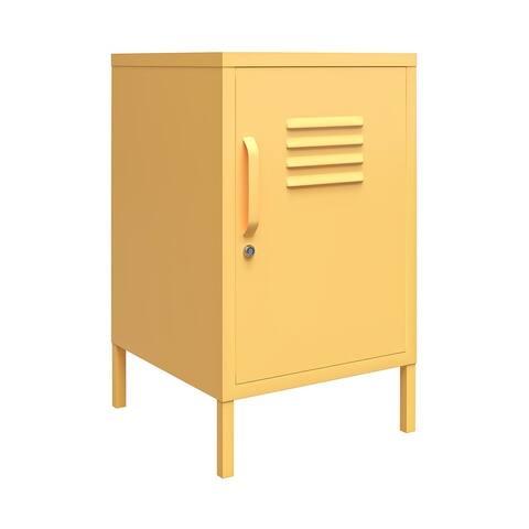 Novogratz Cache Metal Locker End Table