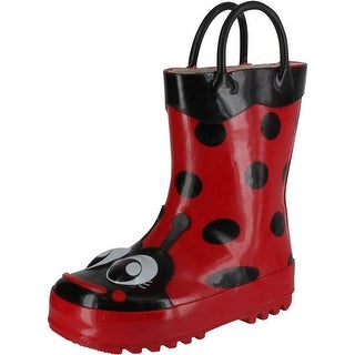Western Chief Girl's Ladybug Rainboots