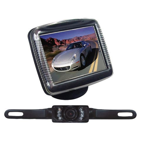 Pyle plcm36 pyle 3.5 stand monitor rear view camera