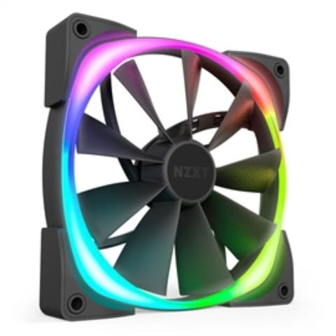 NZXT Fan HF-28140-B1 AER RGB 2 Cooling Fan 140mm 8LEDs Retail
