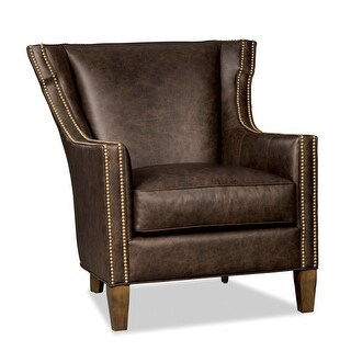 Link to Inciarte  Genuine Leather Accent Chair Similar Items in Living Room Chairs