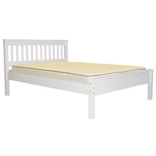 Link to Bedz King Mission Style Full Bed, White Similar Items in Kids' & Toddler Furniture