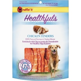 Ruffin' it 5Oz Chkn Tndrs Dog Treat
