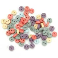 Tiny Round Buttons - Garden - Dress It Up Embellishments