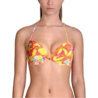 Polo Ralph Lauren Womens Floral Print Halter Swim Top Separates