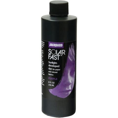 Jacquard Solarfast Dyes 8Oz-Purple - Purple