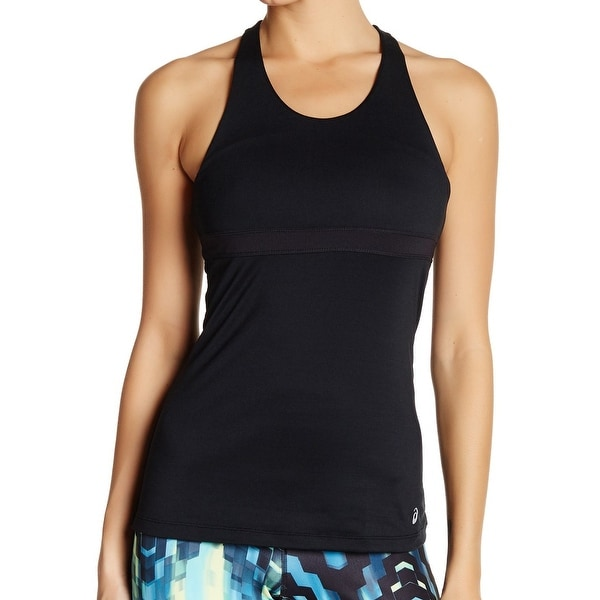 a085a58978c0c Shop Asics Black Women s Size XS Performance ASX Dry Bra Tank Top ...