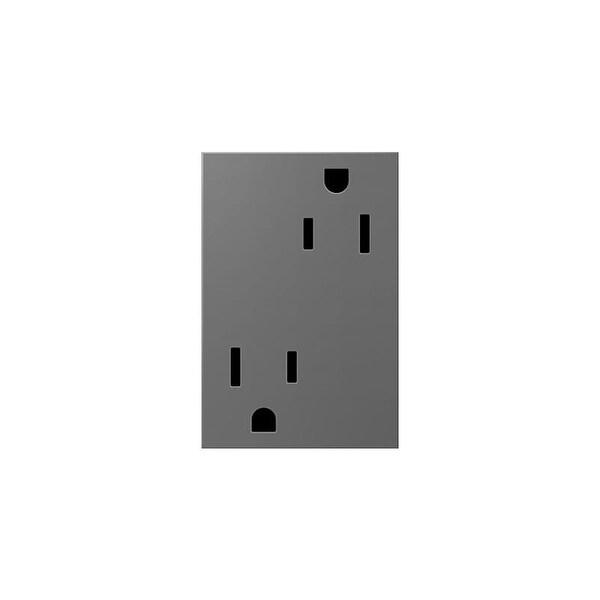 Shop Legrand ARTR153M4 adorne Double 15 Amp Tamper Resistant Outlet ...