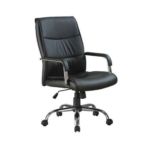 Monarch Specialties Office Chair Iii Rolling Faux Leather With Arms And Adjule Height