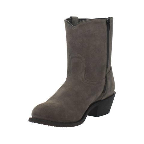 "Dingo Western Boots Mens 10"" Bucktown Leather Unit Heel"