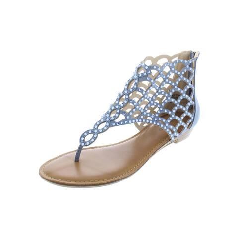 0f93a78cae51 Zigi Soho Womens Melaa Thong Sandals Embellished