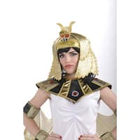 Adult Female Egyptian Headpiece Costume Accessory - Gold