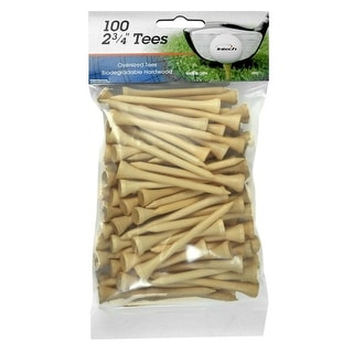 Intech 2 3/4-Inch Golf Tees 100-Pack (Natural)