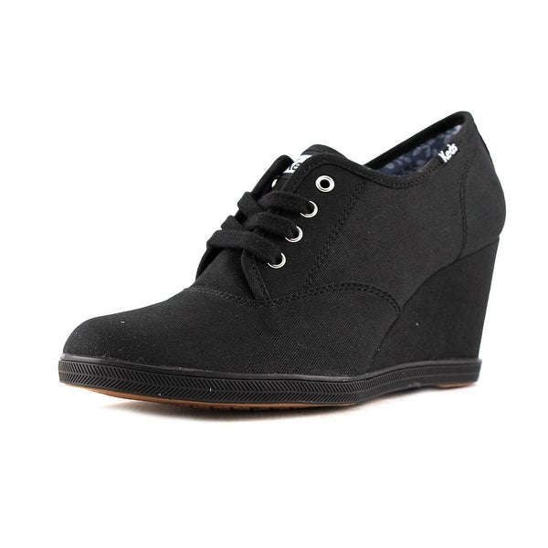 b0800c9e99d Shop Keds Damsel CVO Open Toe Canvas Wedge Heel - Free Shipping On Orders  Over  45 - Overstock - 14545490