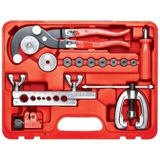 Powerbuilt 14 Piece Master Tubing Service Kit,Tube Cutter, Bender, Flaring Tool