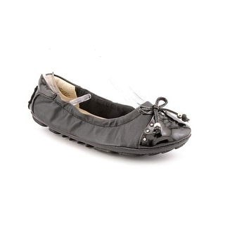 Nine West Jana-4 Youth  Round Toe Synthetic Black Ballet Flats