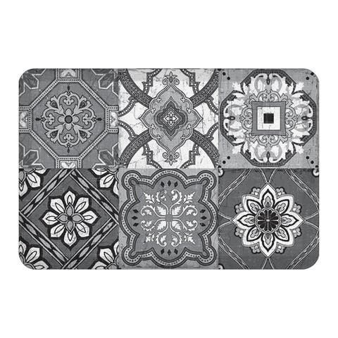Gray Granada Kitchen Mat - 20x30