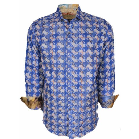 Robert Graham Classic Fit MAKING WAVES Numbered Limited Edition Sport Shirt