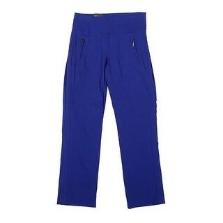Inc International Concepts Goddess Blue Curvy-Fit Cropped Pants 0