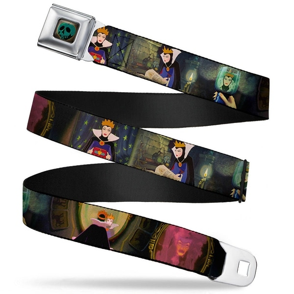 Snow White Poisoned Apple Full Color Snow White Evil Queen Poses Webbing Seatbelt Belt