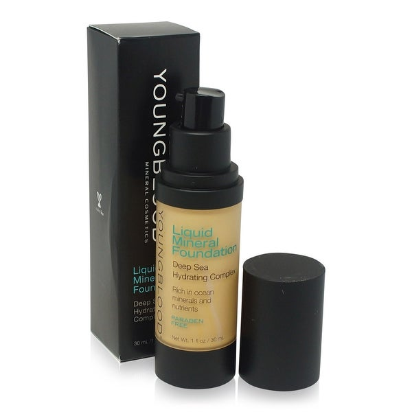 Youngblood Liquid Mineral Foundation Sand 1 Oz